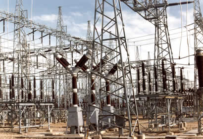 how to find ergon electricity substations
