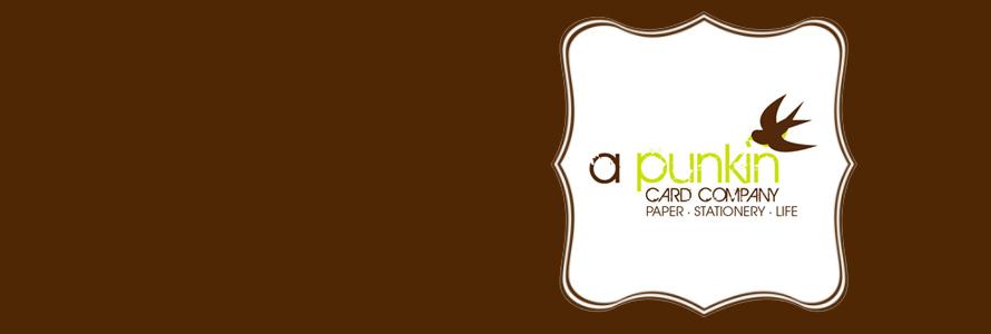 A Punkin Card Company