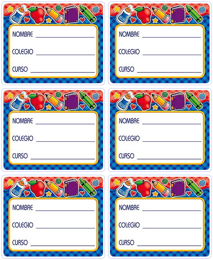 Stickers para cuadernos para imprimir gratis - Imagui