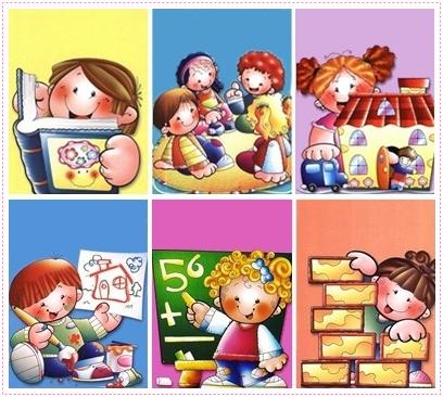 El arte en la educacion inicial for Juegos para nios jardin de infantes