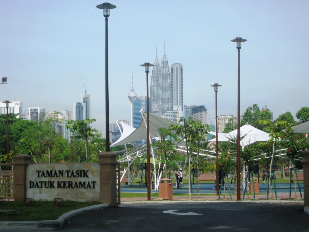 Park in Kuala Lumpur, Malaysia IMG_0389
