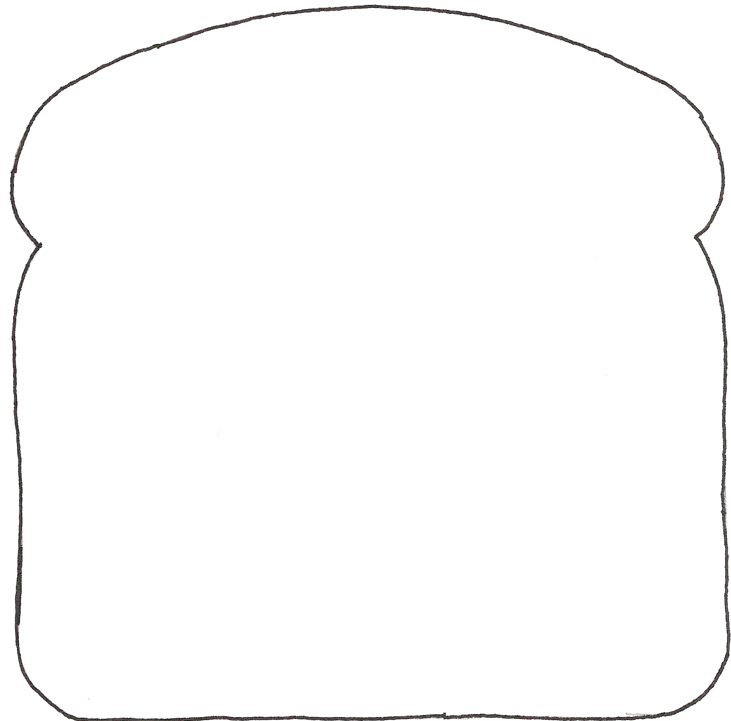 loaf of bread outline - Google Search | TAT2 | Pinterest