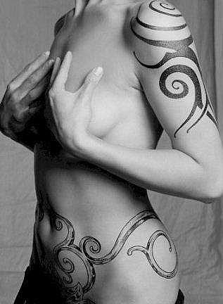 female body tattoos. Full Body Tattoos from lower