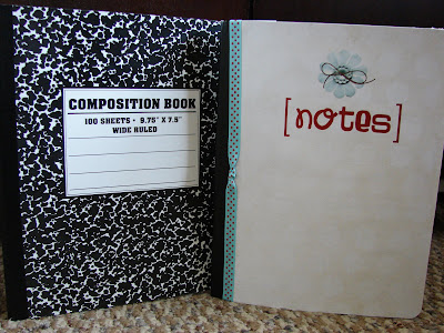 Simple DIY Notebook Covers | Gift Idea