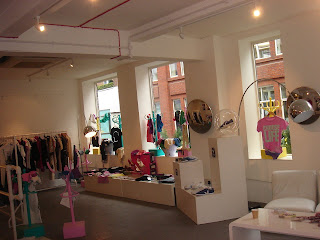 Eco Chic at 57 Carnaby Street.  Photo by Lucia Carpio.