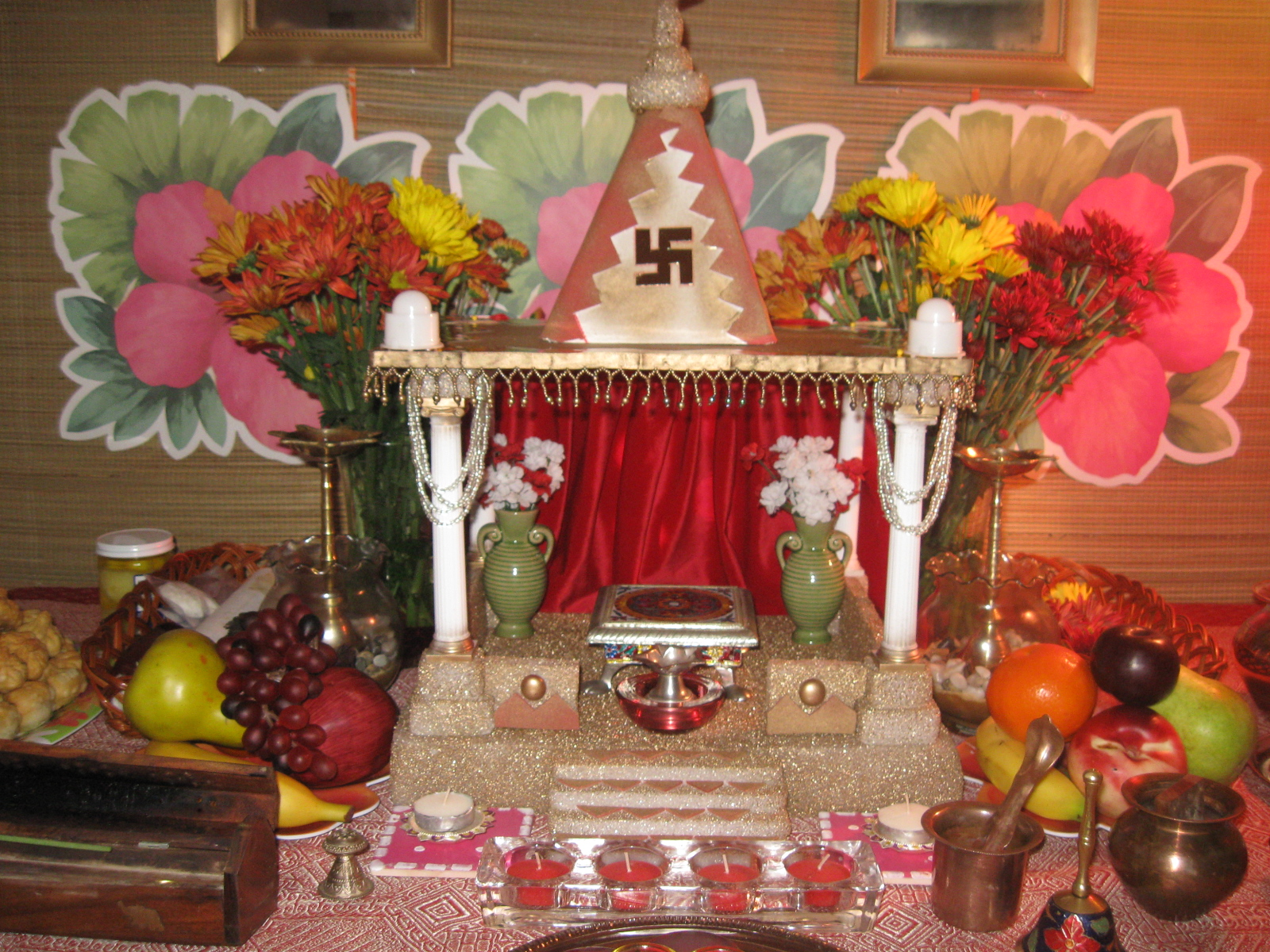 Ganpati Decoration Joy Studio Design Gallery Best Design