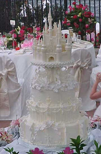Great Castle Wedding Cakes