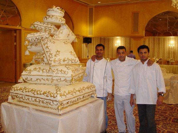 Kuwait Royal Wedding Cakes