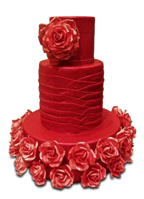 Images Of Red Cake : Wedding Cakes Pictures: Red Wedding Cakes Pictures