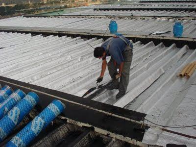 Manta asfaltica liquida para telhado