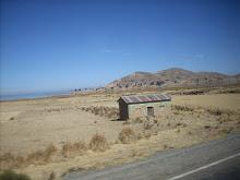 El Alto. Camino hacia el Titicaca.