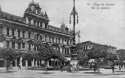 Largo da Carioca - 1930