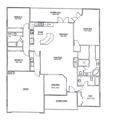 New Home Plans 2015 Home Office Floor Plan