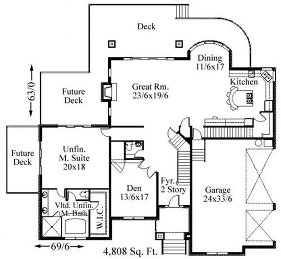 Home plan collection of 2015 transitional house plans for Transitional house plans