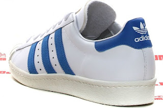 adidas superstar white blue