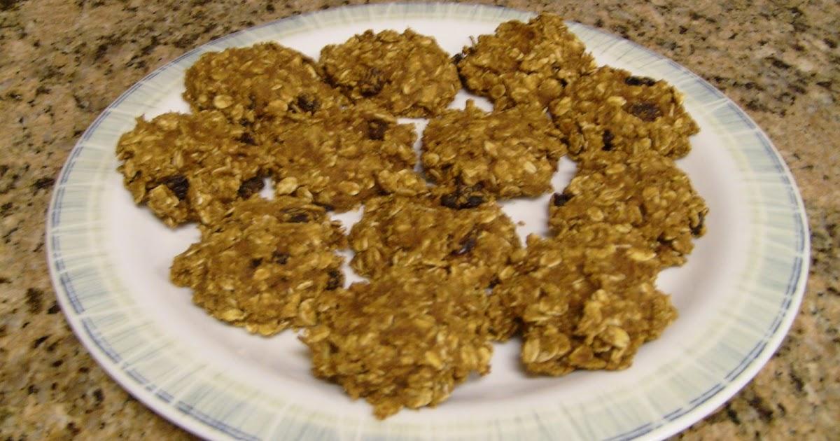 Low Fat Pumpkin Oatmeal Cookies 101