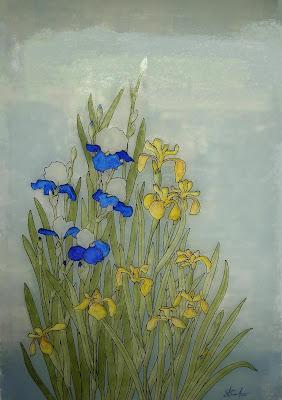 D coration de la maison peinture vitrail sur fenetre for Peinture sur fenetre