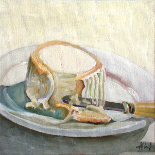 Bûche de Chèvre, a day older by Liza Hirst