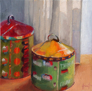 Two Big Tins by Liza Hirst