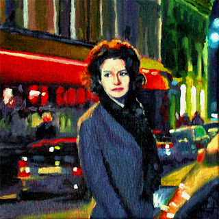 Night in Paris by Liza Hirst
