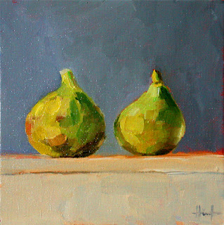 Two Figs by Liza Hirst
