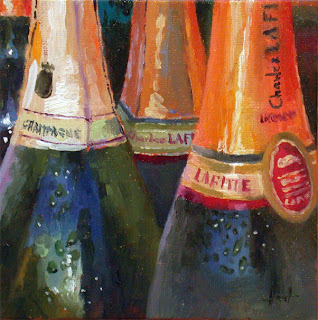 Ready for New Year's Eve by Liza Hirst