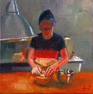 La Cuisinière by Liza Hirst