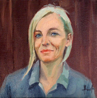 Selfportrait by Liza Hirst