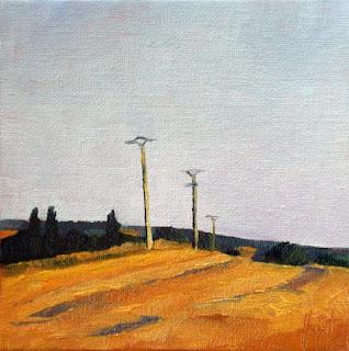 Yellow Field by Liza Hirst