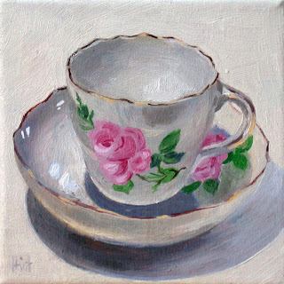 Meissen Rose by Liza Hirst