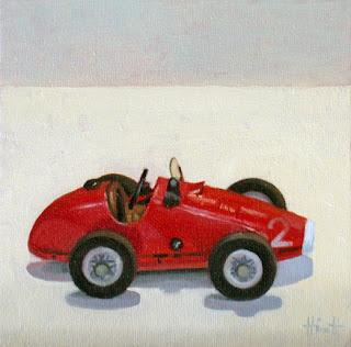 Grand Prix Racing Car by Liza Hirst