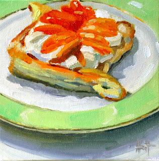 Apricot Tart by Liza Hirst