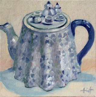 American Teapot by Liza Hirst