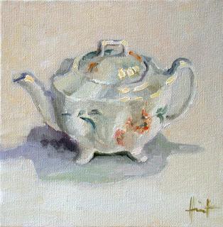 English Teapot by Liza Hirst