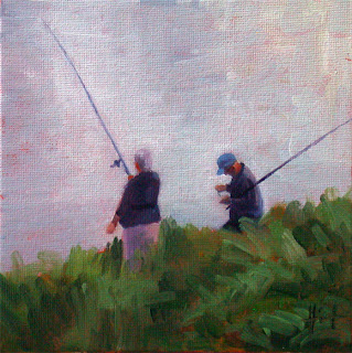 Fishing for Supper by Liza Hirst