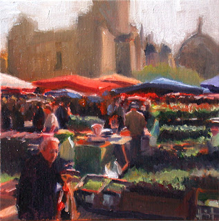 Perigueux Market by Liza Hirst
