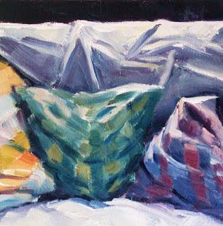 Comfy Cushions by Liza Hirst
