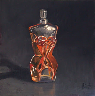 My Things, Perfume Bottle by Liza Hirst