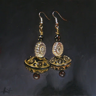 My Things, Fancy Earrings by Liza Hirst