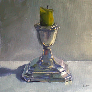 My Things, Antique Candlestick by Liza Hirst