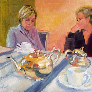 Sitting Together by Liza Hirst