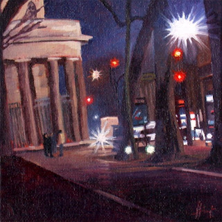 Red Lights by Liza Hirst