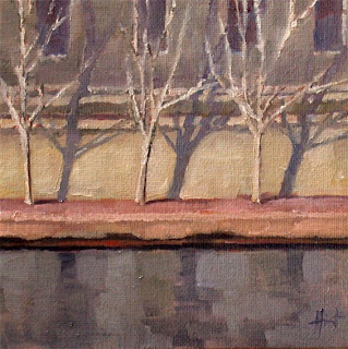 Shadows on the Seine by Liza Hirst
