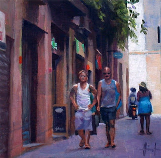 Barcelona Guys by Liza Hirst