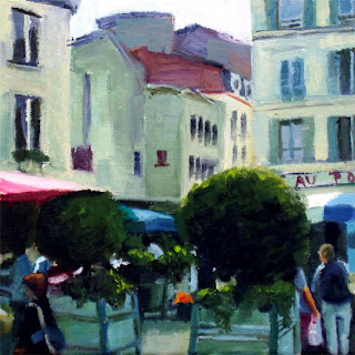 Market Perigueux II by Liza Hirst