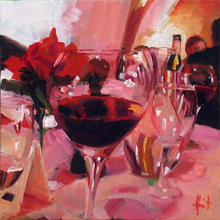 At the Restaurant by Liza Hirst