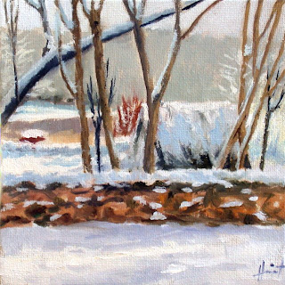 First Snow by Liza Hirst