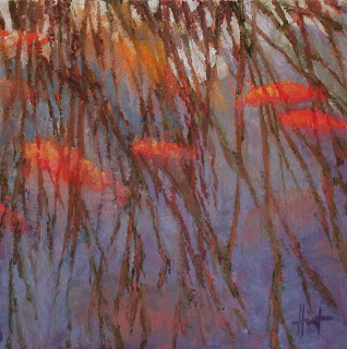 Twiggy Reflections II by Liza Hirst