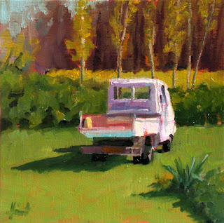 Le Camion du Jardinier by Liza Hirst