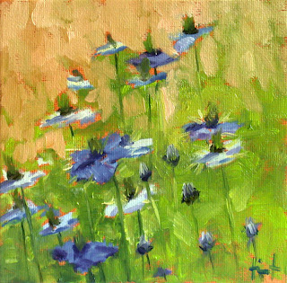 Love in a Mist by Liza Hirst